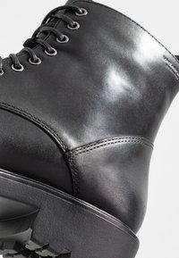 Vagabond - KENOVA - Šněrovací kotníkové boty - black - 2
