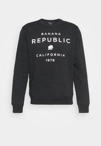 GRAPHIC MODERN LOGO CREW - Sweatshirt - black