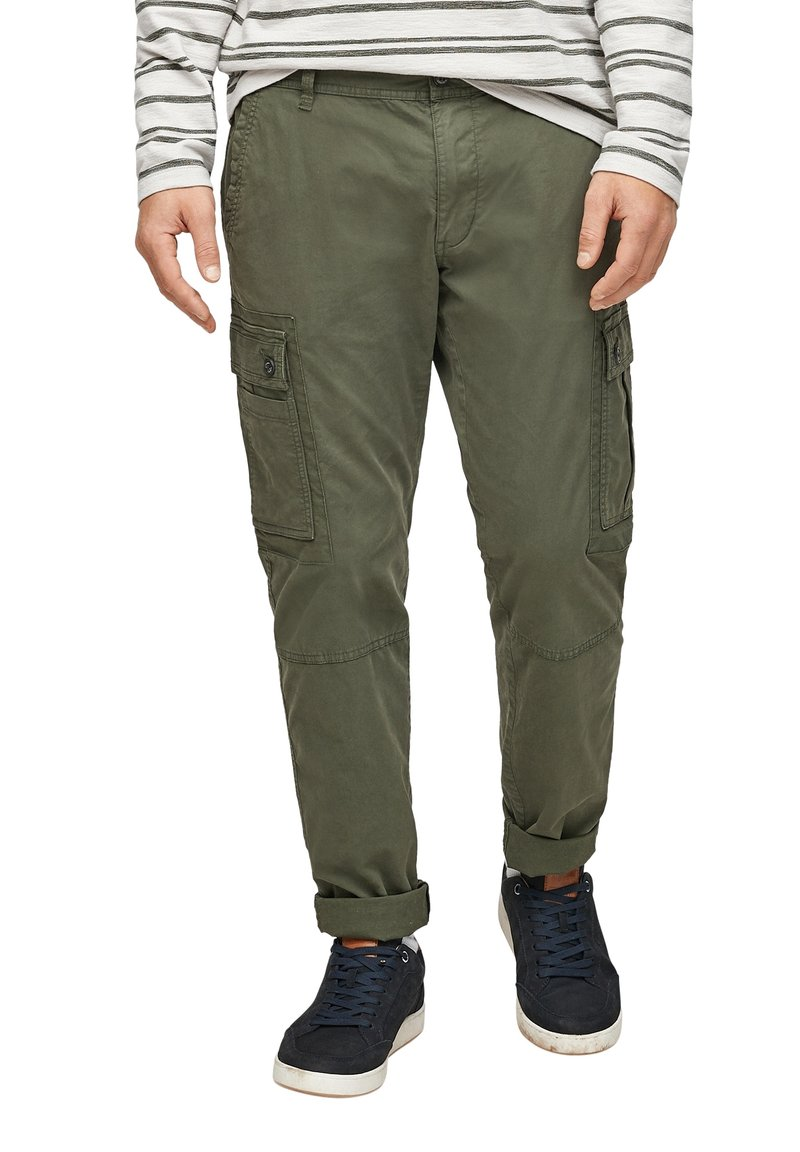 s.Oliver - Cargo trousers - olive