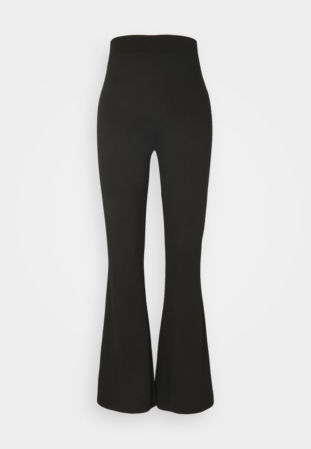 WILDA TROUSERS - Stoffhose - black