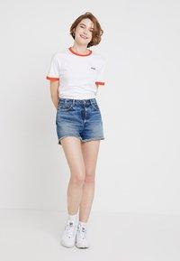 Fila - NOREEN TEE - Print T-shirt - bright white - 1