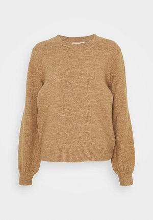 PCPERLA  - Strickpullover - toasted coconut
