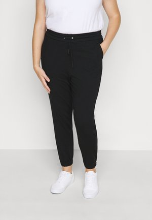 VMEVA LOOSE TRACK PANTS - Verryttelyhousut - black