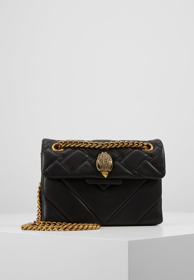 Kurt Geiger London - MINI KENSINGTON X BAG - Across body bag - black