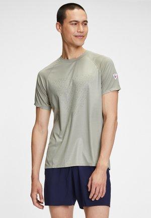 T-shirt con stampa - soft kaky