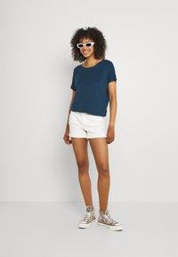 Ragwear - PECORI - Print T-shirt - navy - 1