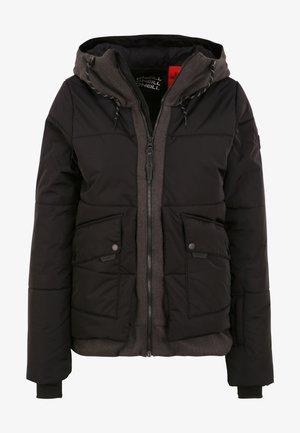 AZURITE JACKET - Snowboard jacket - black out