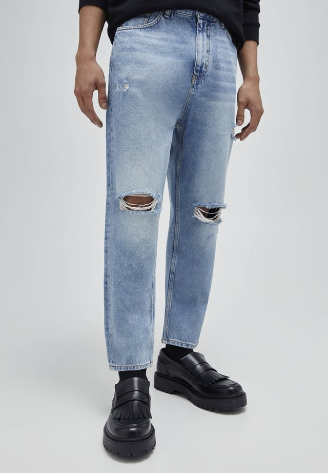 Jeans baggy - blue-grey