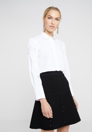 CANDICE FASHIONISTA BLOUSE - Button-down blouse - white