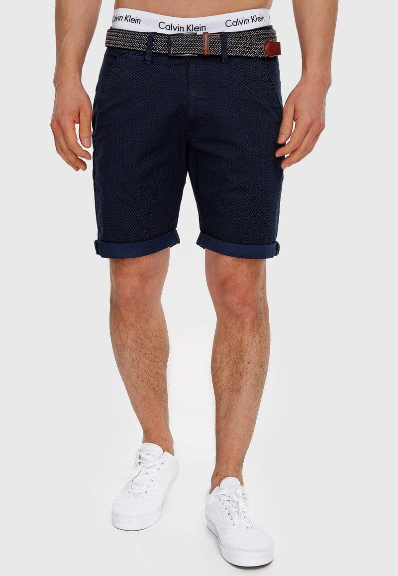 INDICODE JEANS - Shorts - navy