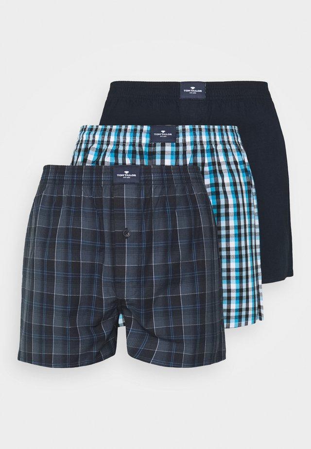 3 PACK - Boxershorts - blue/dark