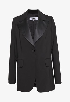 CLASSIC TUXEDO JACKET - Short coat - black