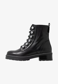 Kurt Geiger London - BAX - Cowboy/biker ankle boot - black - 1