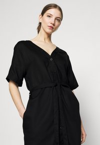 Dedicated - DRESS BORNHOLM - Shirt dress - black - 3