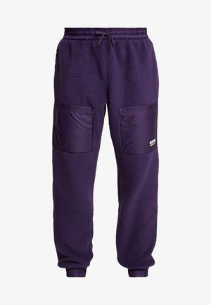 REVEAL YOUR VOICE TREFOIL TRACKPANT - Tracksuit bottoms - legend purple