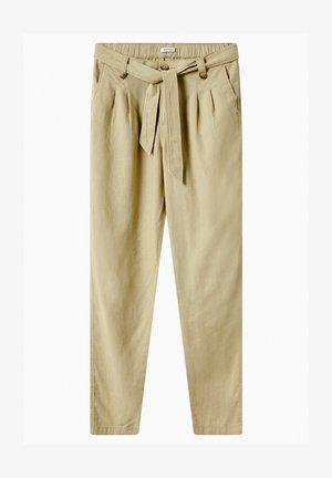 SLOUCHY - Trousers - frühlingsmoos