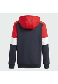 adidas Performance - Jersey con capucha - legend ink/vivid red/white - 3