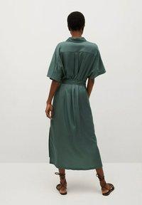 Mango - Košilové šaty - groen - 1