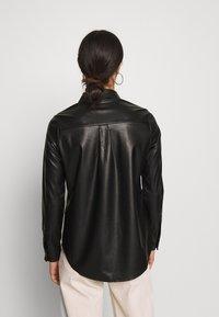 New Look - PEYTON - Hemdbluse - black - 2