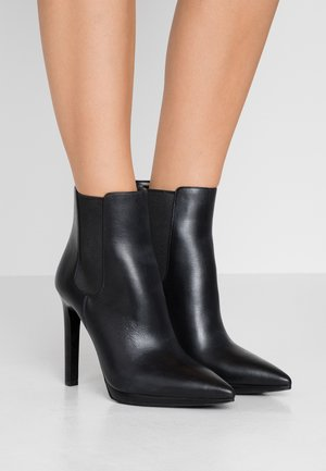 BRIELLE  - High heeled ankle boots - black