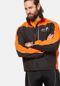 JP1880 - GROSSE GRÖSSEN FUNKTIONS - Outdoor jacket - schwarz - 1