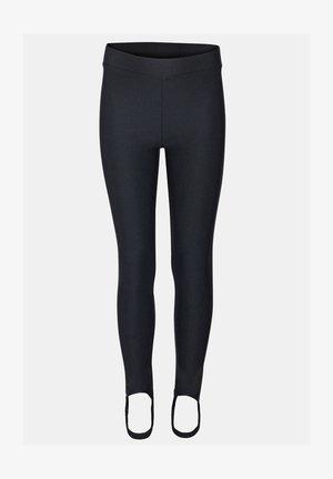 SKI LEGGING - Leggingsit - black