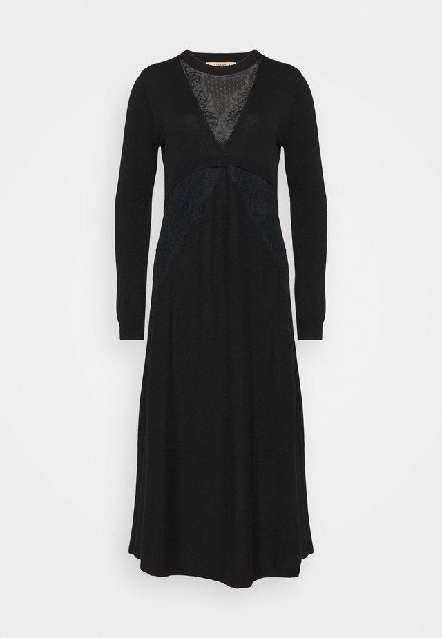 Vestido de punto - nero