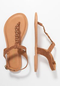 New Look Wide Fit - WIDE FIT GINA - Sandaler m/ tåsplit - tan - 3