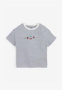 Next - EMBROIDERED STRIPE - Print T-shirt - multi coloured - 0