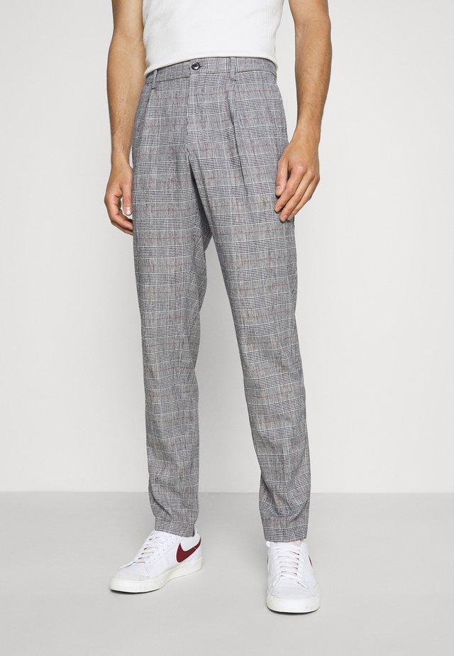 PLEAT - Pantalon classique - colorado indigo