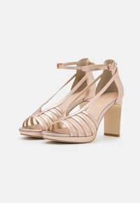 Anna Field - LEATHER - High heeled sandals - rose gold - 2