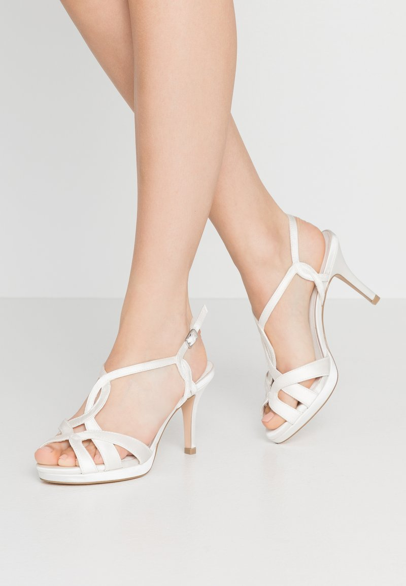 Menbur - High heeled sandals - ivory