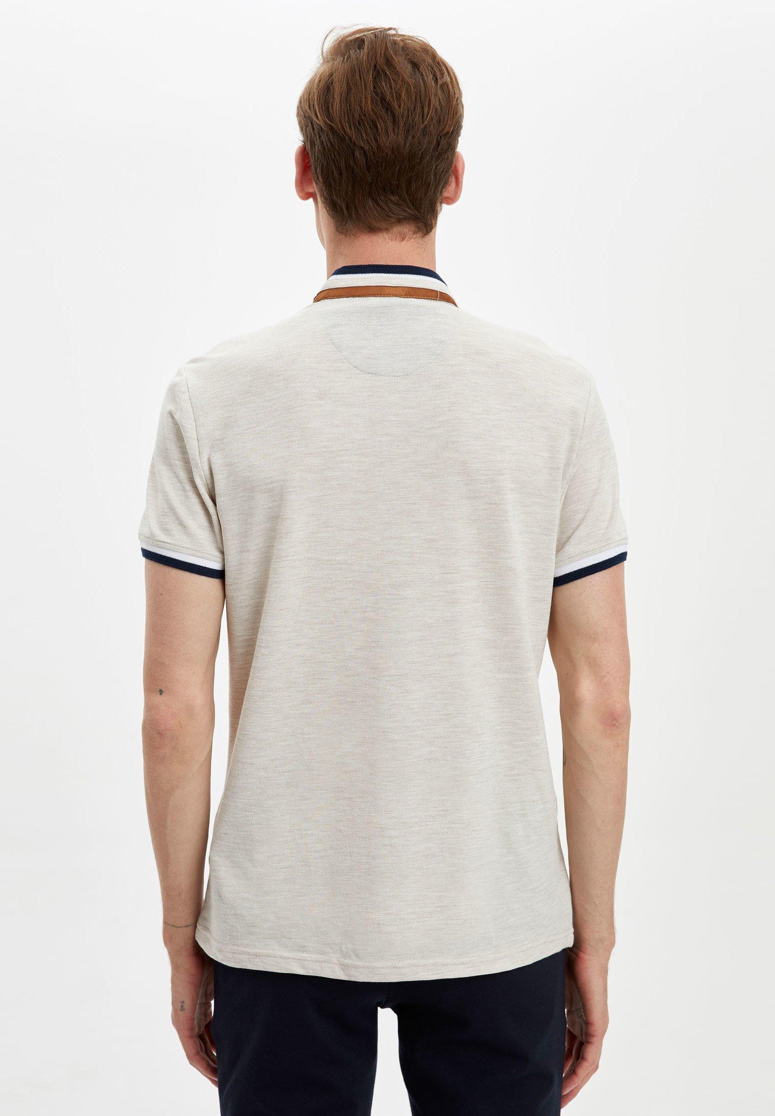 DeFacto Polo shirt - beige wE6Ou