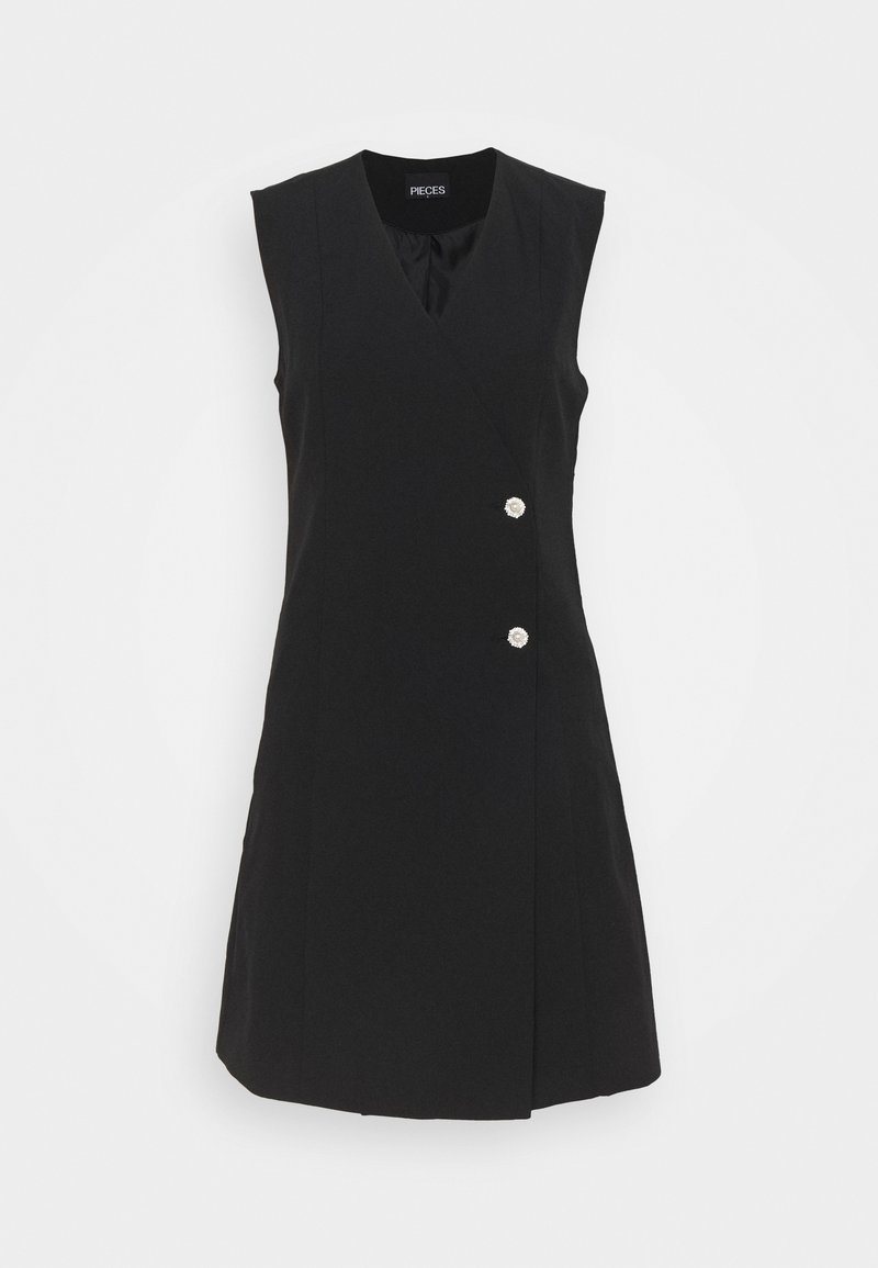 PIECES Tall - PCVALERIA  - Day dress - black