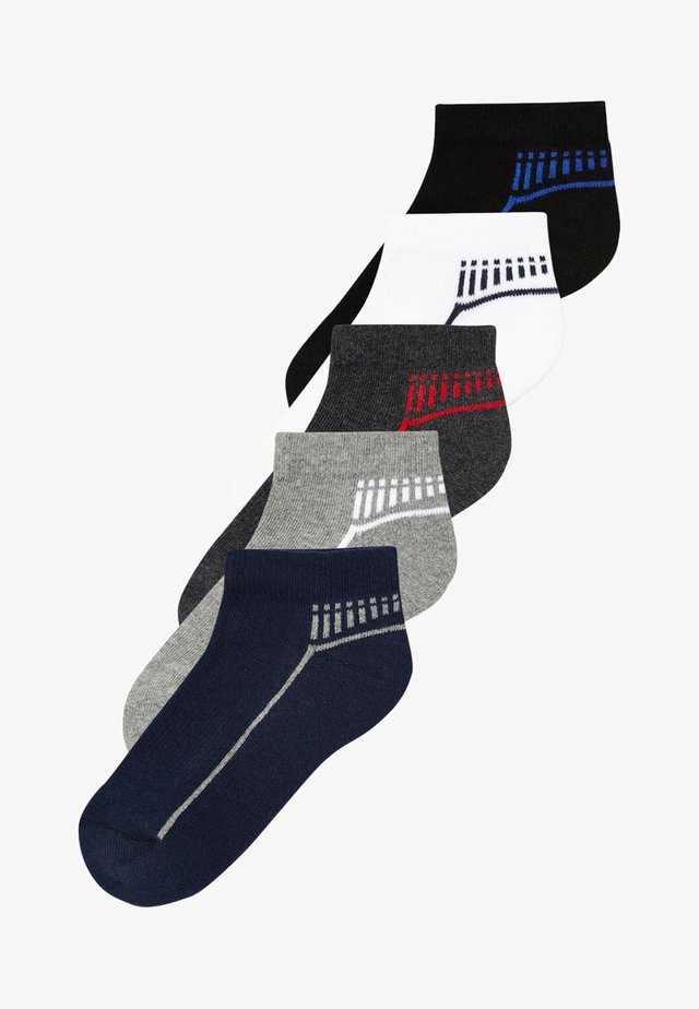 FIVE PACK - Trainer socks - multi-coloured