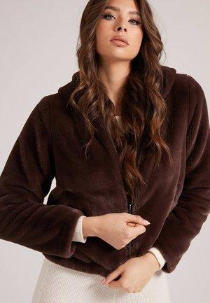 ROXY REVERSIBLE - Faux leather jacket - braun
