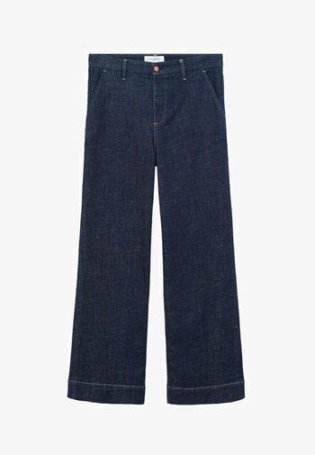 LILA - Bootcut jeans - blue