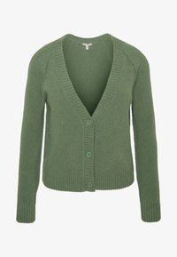 Esprit - SLUBSEAMING - Cardigan - khaki green - 4