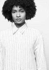 MM6 Maison Margiela - Button-down blouse - white - 4