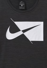 Nike Performance - DRY  - T-shirt print - mottled grey - 2
