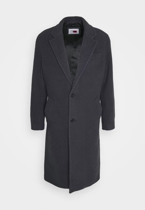 TEXTURED COAT - Classic coat - coal