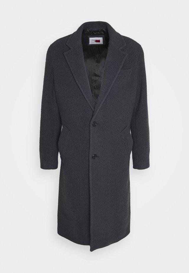 TEXTURED COAT - Manteau classique - coal
