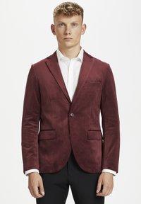 Matinique - Blazer jacket - tawny port - 0