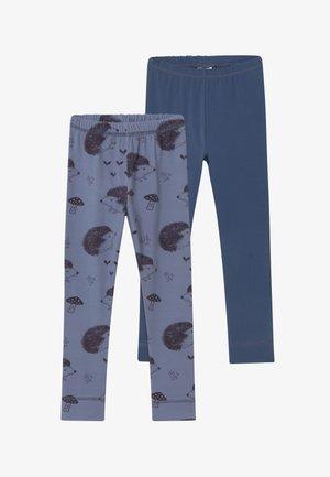 2 PACK - Leggings - Trousers - blue