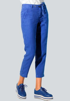 Trousers - royalblau