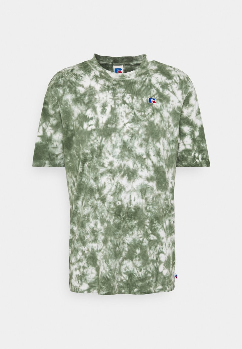 Russell Athletic Eagle R - JUDE MEN'S MODERN CREWNECK TEE UNISEX - Print T-shirt - four leav clover