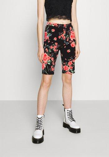 VICOSMO FESTIVAL BIKER - Shorts - black