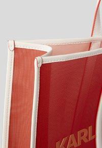 KARL LAGERFELD - Shopping bags - tangerine - 2