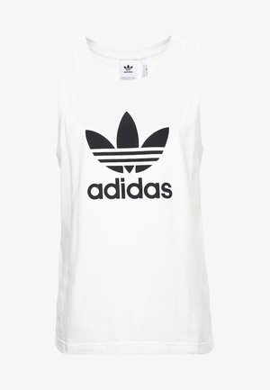 TREFOIL TANK - Top - white