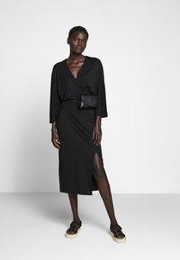Filippa K - IRENE DRESS - Žerzejové šaty - black - 1